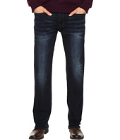 Buffalo David Bitton - Six Straight Leg Jeans in Authentic and Deep Indigo