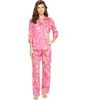 LAUREN Ralph Lauren - Sateen 3/4 Sleeve Pajama