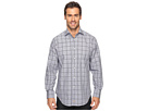 Long Sleeve Glen with Fil Coupe Sport Shirt
