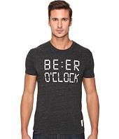 The Original Retro Brand - Beer O'Clock Tri-Blend Short Sleeve Tee