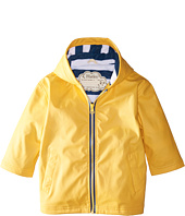 Hatley Kids - Yellow with Navy Stripe Lining Splash Jacket (Toddler/Little Kids/Big Kids)
