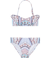Seafolly Kids - Ditsy Romance Mini Tube Bikini Set (Little Kids/Big Kids)