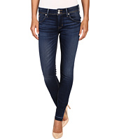 Hudson - Collin Mid-Rise Released Hem Skinny w/ Distress in Pin Point
