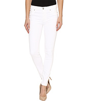 Hudson - Nico Mid-Rise Ankle Super Skinny in White