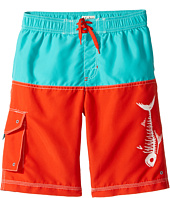 Hatley Kids - Fish Bones Boardshorts (Toddler/Little Kids/Big Kids)