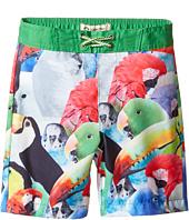 Appaman Kids - Parrot Pattern Swim Trunks (Toddler/Little Kids/Big Kids)