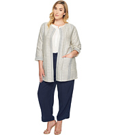 B Collection by Bobeau Curvy - Plus Size Abel Woven Jacket