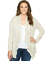 B Collection by Bobeau Curvy - Plus Size Amie Waterfall Cardigan