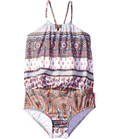 Seafolly Kids - Moroccan Paisley Blouson Tank One-Piece (Toddler/Little Kids)