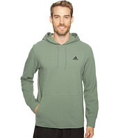 adidas - Essentials Heather Piqué Pullover Hoodie