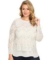 Lucky Brand - Plus Size Stitch Shine Sweater