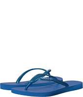 Havaianas - Slim Logo Metallic Flip Flops