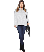 Lucky Brand - Plus Size Cowl Neck Tunic
