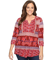 Lucky Brand - Plus Size Printed Knit Top