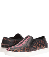 Dolce & Gabbana - Leather Slip-On Sneaker