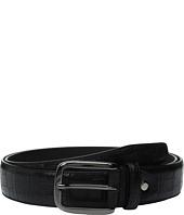 BUGATCHI - Caravaggio Croc Print Belt