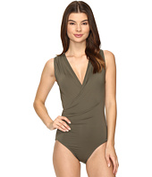 Vince Camuto - Fiji Solids Shirred Surplus One-Piece