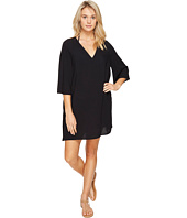 Vince Camuto - Fiji Solids V-Neck Caftan Tunic Cover-Up