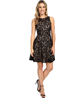 Karen Kane - Fit and Flare Lace Dress