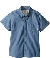 Quiksilver Kids - Everyday Wilsden Short Sleeve Woven Top (Toddler/Little Kids)
