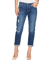 7 For All Mankind - Josefina w/ Destroy in Barrier Reef Broken Twill
