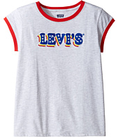 Levi's® Kids - Ringer Tee Short Sleeve Knit Top (Big Kids)