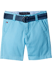 Tommy Hilfiger Kids - Dagger Stretch Twill Shorts (Toddler/Little Kids)