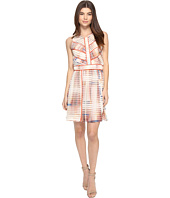 Adelyn Rae - Printed Fit and Flare Dress