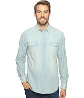 True Grit - Long Sleeve Western Shirt w/ Hand Treated Wash