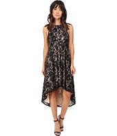 Aidan Mattox - Stretch Lace Cocktail Dress with High-Low Hem Detail