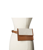 MICHAEL Michael Kors - Pebble and Logo Belt Bag on 20mm Pebble Strap