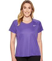 Nike - Dry Miler Short Sleeve Running Top (Size 1X-3X)