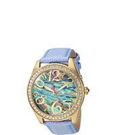 Betsey Johnson - BJ00048-201 - Abalone & Crystal Bezel