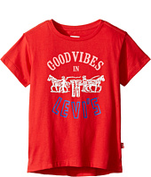 Levi's® Kids - Short Sleeve Hi-Low Tee (Little Kids)