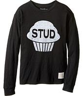 The Original Retro Brand Kids - Stud Muffin Long Sleeve Slub Tee (Big Kids)