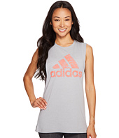 adidas - Badge Of Sport Floral Muscle Tank Top