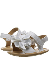 Baby Deer - Double Strap Sandal with Flower (Infant)