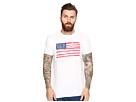 American Flag Short Sleeve Slub Tee