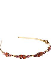 Oscar de la Renta - Teardrop Framed Crystal Headband