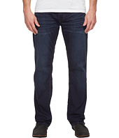 Buffalo David Bitton - Driven Relaxed Straight Leg Jeans in Dark Blue Wash