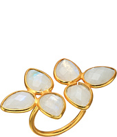 Dee Berkley - Gemstone Flower Ring Moonstone
