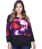Calvin Klein Plus - Plus Size 3/4 Sleeve Dolman Top