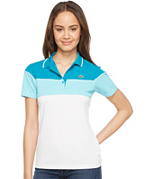 Lacoste - Short Sleeve Color Block Waffle Stitch Polo