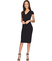 Donna Morgan - Cap Sleeve Fitted Stretch Crepe Sheath Dress