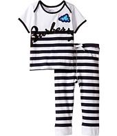 Burberry Kids - Stripe Cloud Set (Infant)