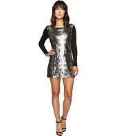 Calvin Klein Jeans - Sequin Front Long Sleeve Dress