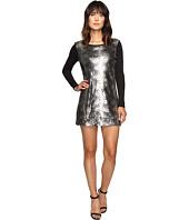 Calvin Klein Jeans - Sequin Front Long Sleeve Dress