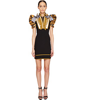 DSQUARED2 - Tiger Puff Short Sleeves Mini Dress