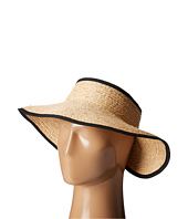 San Diego Hat Company - RHV1505 Raffia Roll Up Visor with Velcro Closure