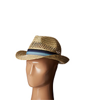 San Diego Hat Company - SGF2020 Seagrass Fedora Hat with Ombre Striped Band